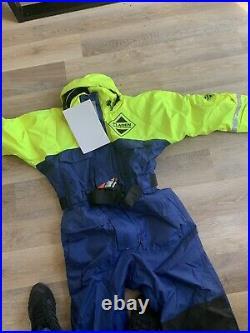 1pc Fladen Floatation Suit Flotation Suit Immersion Fishing Sailing Boating (M)