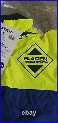 1pc Fladen Floatation Suit Flotation Suit Immersion Fishing Sailing Boating XL