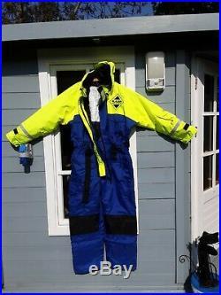 1pc Fladen floatation flotation suit, immersion, fishing, sailing, boating