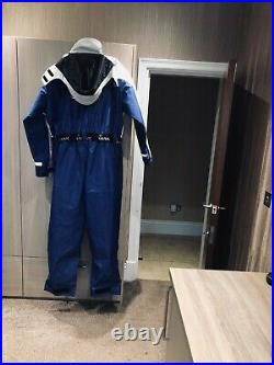 1pc i max flotation suit, immersion, fishing, sailing, boating blue and white
