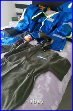 2 piece flotation suit