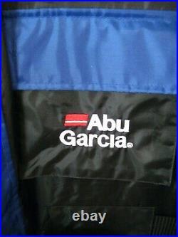 Abu Garcia Flotation Suit / Jacket & Brace Trousers 2 Piece Size Medium