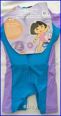 BNWT Dora the Explorer Floatation suit/Swimming Aid Vest