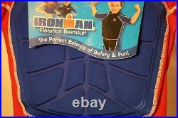BRAND NEW Ironman Kids Triathalon Swim Suit Race Flotation Life Jacket size med
