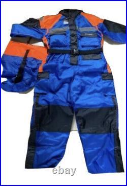 Blue & Orange Floatation Suit Size XXL