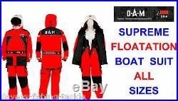 Clearance Dam Supreme Floatation Suit Sea Boat Fishing Sailing Jacket+salopettes