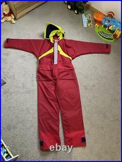 Cosalt Survival Floatation Suit One Piece Size L