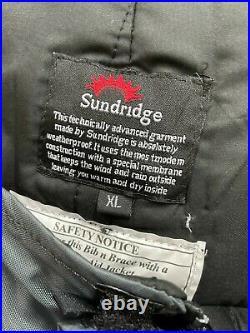 Daiwa Sunridge En-Tec Flotation Suit Breathable Jacket Size XL. FREE UK P&P