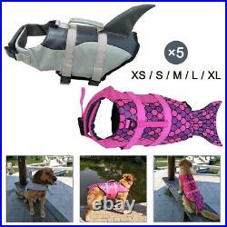 Durable Pet Dog Life Jacket Swimming Suit Safety Flotation Vest Swimsuit