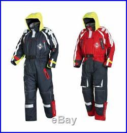 FLADEN Flotation Suit 890/891OS, Schwimmanzug, Navy Blau o. Navy/Rot, S XXL