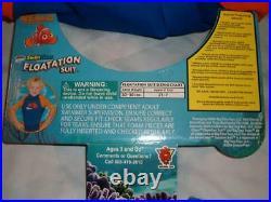 Finding Nemo Floatation Wet Suit Disney Pixar Child 2T-7 weight 30-50 lbs New
