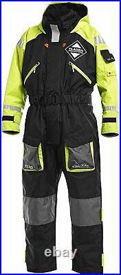 Fladen Fishing Floatation Flotation Suit 1 Piece Sea Fishing Clothing Black