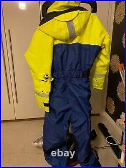 Fladen Floatation Suit Flotation Suit Immersion Fishing Sailing Boating size L