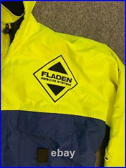 Fladen Floatation Suit Jacket Top ONLY Size Large Fishing Sailing