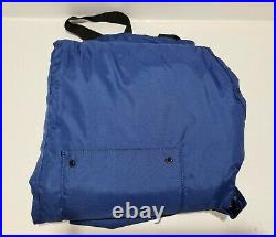 Fladen Floatation Suit Pants Trousers ONLY with Straps Size Medium Fishing Blue