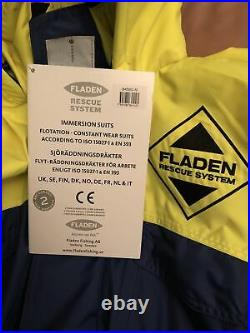Fladen Rescue System All In One Flotation -constant Wear -flotation Suit