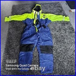 Fladen flotation suit one piece size xl