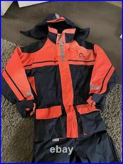 Floatation Suit Sundridge SAS MK2 XXL Fishing Floatation Suit Top & Bottoms NEW