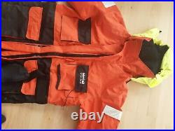 Flotation Suit, one piece, large, Mustad Viking, never been used
