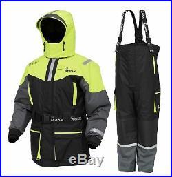 IMAX NEW SEAWAVE Floatation Fishing Suit 2PC Jacket + Bib & Brace ALL SIZES