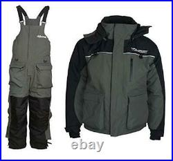 Ice Fishing Suit Insulated Bibs and Jacket Flotation Tons of XX-Large