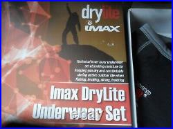 Imax 2 Pc Dry Lite Underwear Set SM-Skiing, Hiking, Fishing, Flotation Suits, Wader
