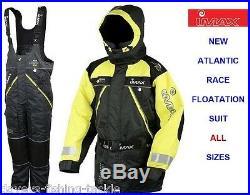 Imax Atlantic Race Floatation Suit Boat Fishing Jacket+salopettes Bib N Brace