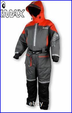 Imax Ocean Floatation Suit Grey/Red 1pcs 100% Waterproof S XXXL Various Sizes