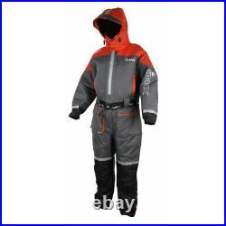 Imax Ocean Floatation Suit Grey/Red XL Schwimmanzug Floatinganzug