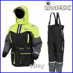Imax Seawave Floatation Suit Waterproof Sea Fishing Sailing M L XL XXL