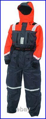 KINETIC Schwimmanzug Flotation Suit, Größen XS XXXL Angelanzug Rettungsanzug