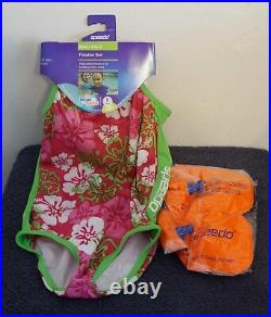 Kids Speedo Flotation Suit Size 4-6 New