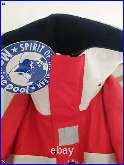 MARINEPOOL-ATLANTIC Large Flotation Fishing Waterproofs Suit Spirit of the Ocean