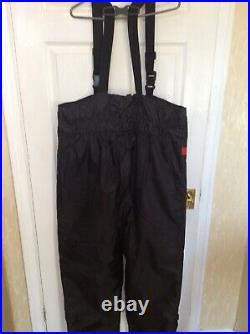 Mullion Floatation Jacket&bib Brace Trousers-size XL New No Tags
