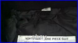 Mullion North Sea 1- piece Flotation Suit, red/black, size M
