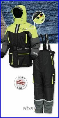 NEW 2021 Imax Seawave Floatation Suit 2-piece 100% Waterproof 100% Polyester