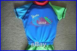 NEW Speedo Kids Surf Uv 2-piece Flotation Suit Size S/M for age 1-2, up to 33LBS