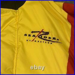 NWT MUSTANG FLOATATION SUIT Buoyant Marine Wear Survival MJ6400 Adult Medium