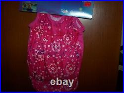 Speedo GIRLS L Age 4-6 UV50+ 1 pc Swim Flotation Suit Begin to Swim NWT