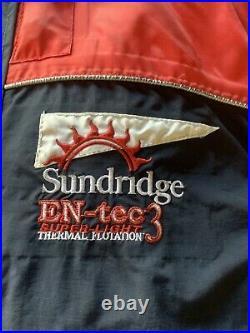 Sundridge2 piece flotation/fishing suit En-tec 3