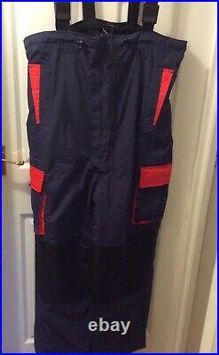 Sundridge Crossflow Stormbeach Pro, 2 pc Flotation Suit, Size Large