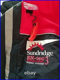Sundridge En-Tec3 Super Light Thermal Two Piece Flotation Suit with Carry Bag
