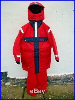 Sundridge SAS Two Piece Flotation Suit, Small with Bib&B