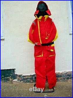 Sundridge SAS Upgraded One Piece Flotation Suit, Med, Lge. XL and XXL