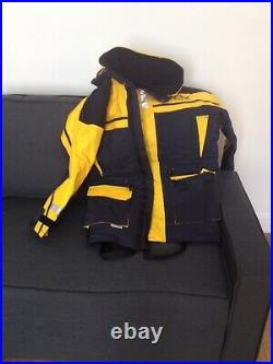 Sundridge s. A. S flotation jacket yellow and black comes with a bag