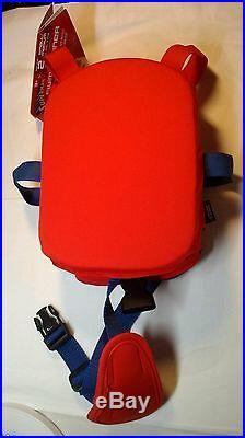 Superman Boys 2 Piece Swim Trainer Flotation Suit S/M 20-33 LBS New