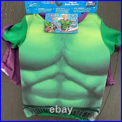 SwimWays Marvel Avengers Hulk Deluxe Float Shorty Small 2-3 Pool Floatation Suit