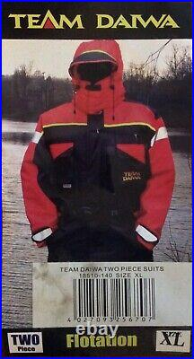 Team Daiwa, Two pc Flotation Suit, Size XL