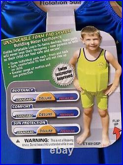 The Original Floatation Suit Boys Safety Training Swimsuit S/M