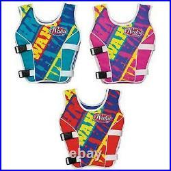 WAHU SWIM SAFETY VEST LARGE Swimwear Buoyancy Float Floatation Aid Suit 25- 50kg